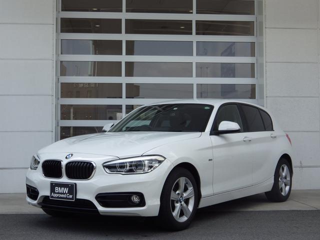 BMW 1シリーズ 118i スポーツ LEDヘッドライト 純正16インチAW クルーズコントロール バックカメラ 純正カーナビ レーンアシスト 衝突被害軽減ブレーキ