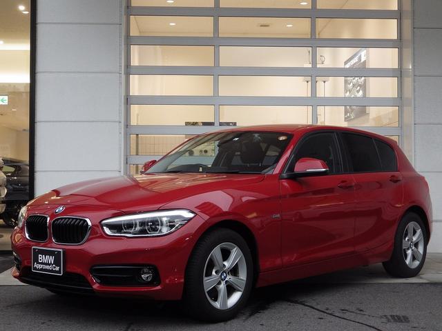 BMW 1シリーズ 118d スポーツ パーキングサポートPKG 17AW 純正ナビ 衝突被害・軽減ブレーキ スポーツシート リヤPDC LEDヘッドライト