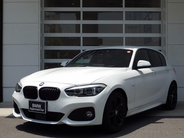 BMW 118d Mスポーツ エディションシャドー 純ナビ黒革 純正ナビ バックカメラ アクティブクルーズコントロール hi-fiスピーカー