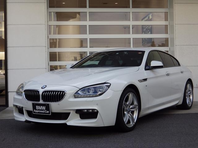 BMW 640iグランクーペ Mスポーツ 黒レザーシート Bカメラ  純正ナビ 19インチAW クルコン ETC