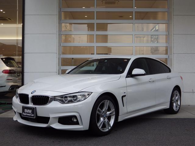 BMW 4シリーズ 420iグランクーペ Mスポーツ ACC Bカメラ 純正ナビ ブルートゥース 電動リアゲート 専用18AW  スマートキー