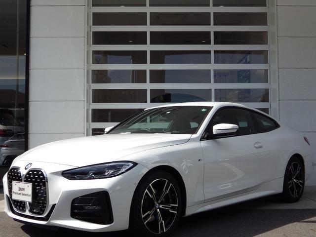 BMW 4シリーズ 420iクーペ Mスポーツ コンフォートP(オートトランク開閉 パーキングアシスト+ ストレージP) ACC 黒革シート シートH  専用18AW ブルートゥース