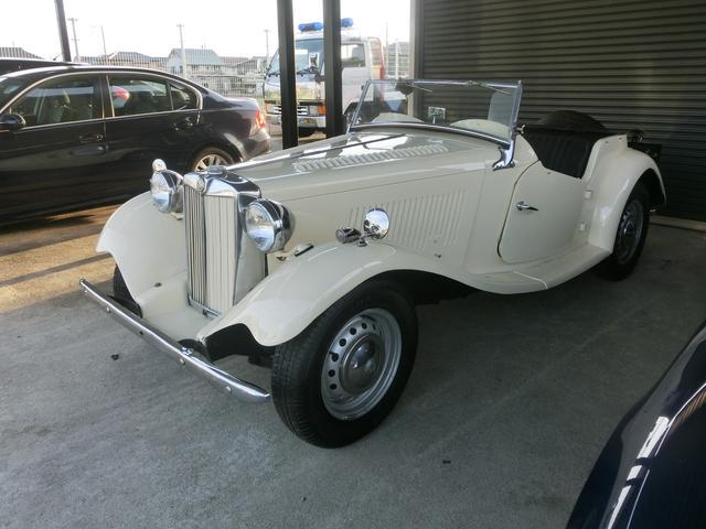 MG MGその他  TD コンペテイション 1951年モデル エンジン整備済