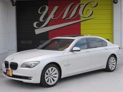 BMWアクティブハイブリッド7L 左ハンドル 黒革シート SR