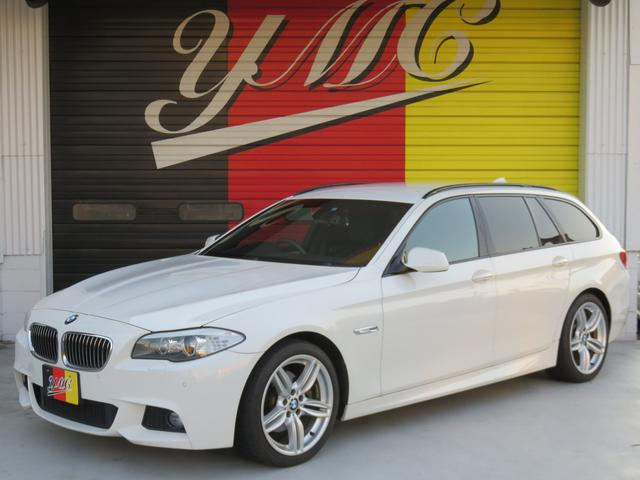 BMW 528iツーリング MスポーツPKG 黒革 OP19AW