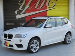 BMW X3xDrive 28i MスポーツPKG 黒革 SR 19AW