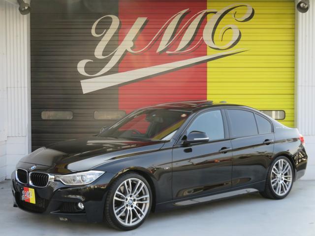 BMW アクティブハイブリッド3 Mスポーツ 車高調 SR 黒革