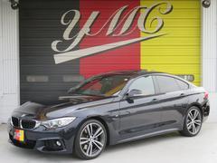 BMW420iグランクーペ Mスポーツ 赤革 SR 純正19AW