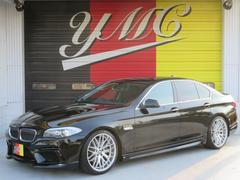 BMW528i ENERGYコンプリート ローダウン 4本マフラー
