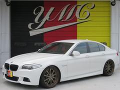 BMW528i Mスポーツエアロ 車高調 社外21AW 黒革シート