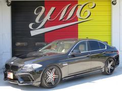 BMW535i ENERGYコンプリート 革シート ローダウン