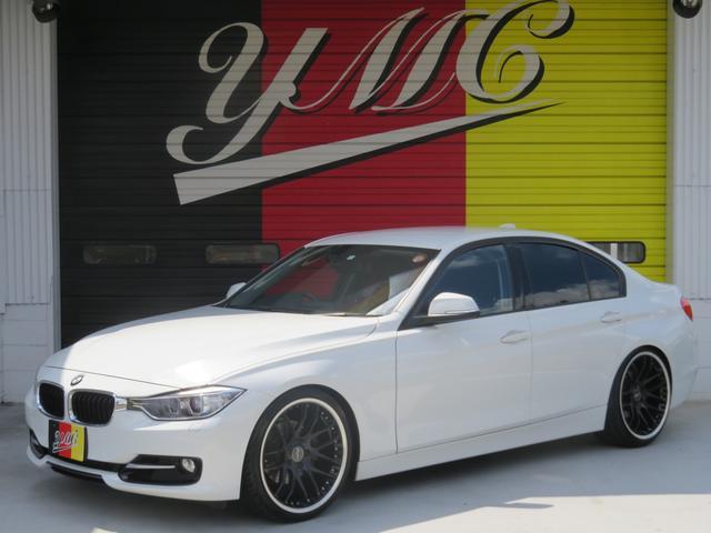 BMW 320i スポーツ ローダウン 社外20AW 純正HDDナビ