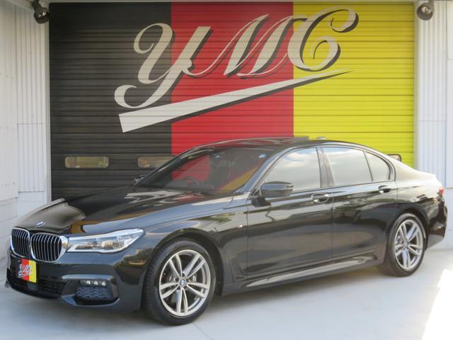 BMW 740i Mスポーツ新車保証 モカインテリア SR 19AW