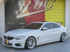 BMW420iクーペ ラグジュアリー Mスポバンパー 車高調 SR