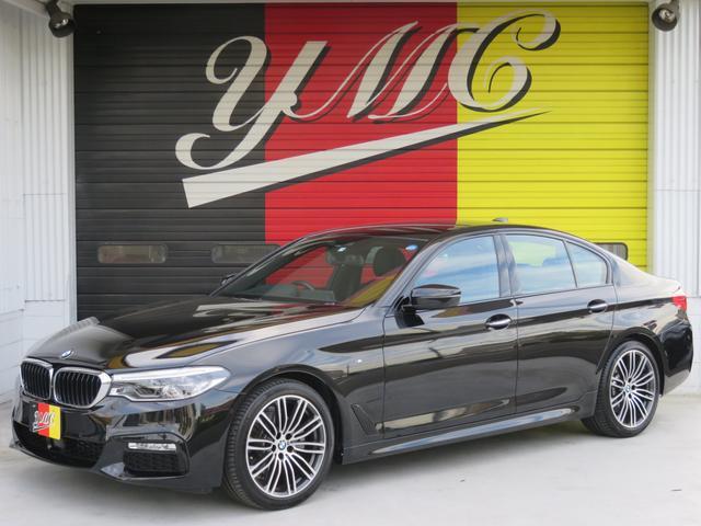 BMW 523d Mスポーツ 黒革 インテリジェント 全方向カメラ
