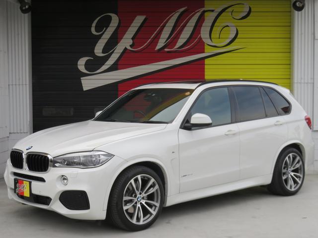BMW xDrive 35d Mスポーツ SR 黒革 車高調 LED