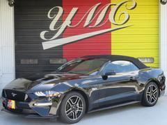 フォード マスタングV8 GT 5.0 コンバーチブル カープレイ 黒革シート