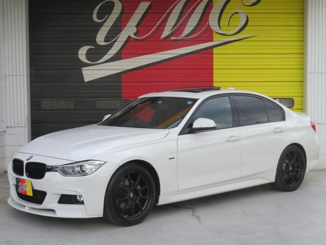 BMW 320d Mスポーツ SR レムスマフラー Fスポイラー