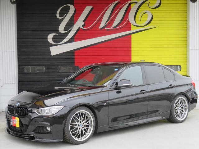 BMW 320d Mスポーツ インテリジェント 18AW 純正ナビ