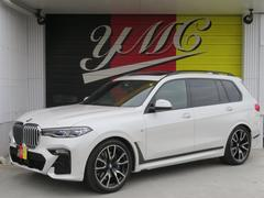 X7xDrive 35d Mスポーツ ウェルネスPKG 新車保証 黒革 SR 22AW 6人乗り