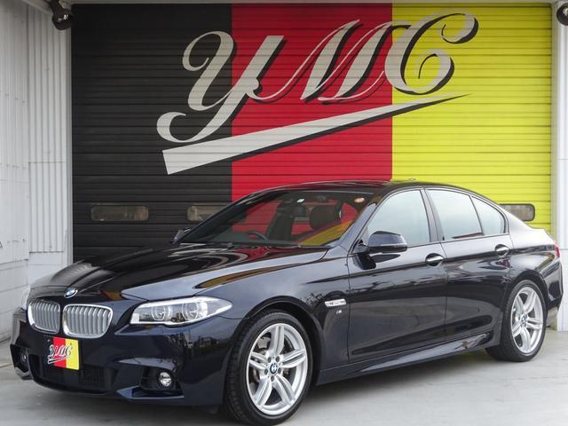 BMW 5シリーズ 535i Mスポーツ サンルーフ・ハーマンカードンサウンド・Supersprintマフラー・インテリジェントセーフティー・純正19インチアルミホイール・バックカメラ・シートヒーター・LED・電動トランク・メーカーナビ
