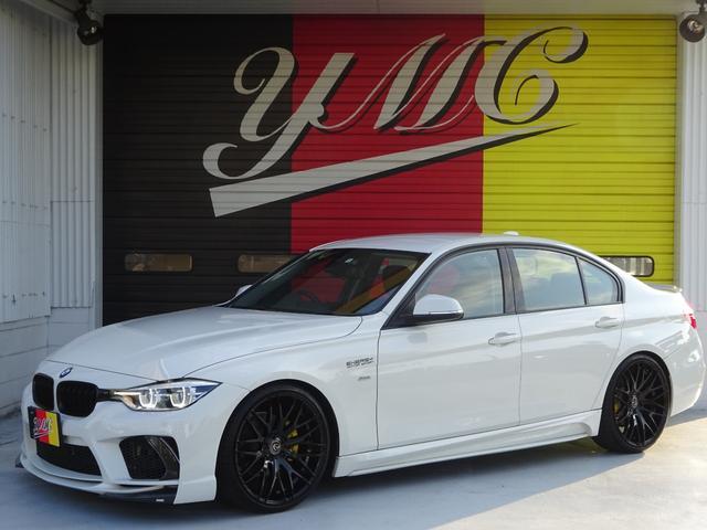 BMW 320i スポーツ ENERGYMOTORSPORTエアロキット&ステレンスマフラー&スポーツスプリング&20AW・LEDヘッドライト・バックカメラ・ミラー一体型ETC・アダプティブクルーズコントロール・パワーシート