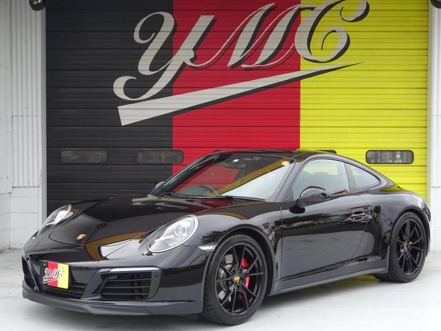 911カレラ4S ワンオーナー・スポーツクロノパッケージ・スポーツエグゾースト・20AW・バックカメラ・レッドブレーキキャリパー・ブラックレザーシート・電動リアスポイラー・社外レーダー・スマートフォンインテグレーション