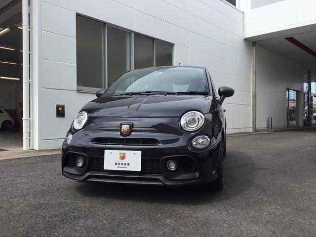 アバルト コンペティツィオーネ 登録済未使用車 認定中古車保証付き