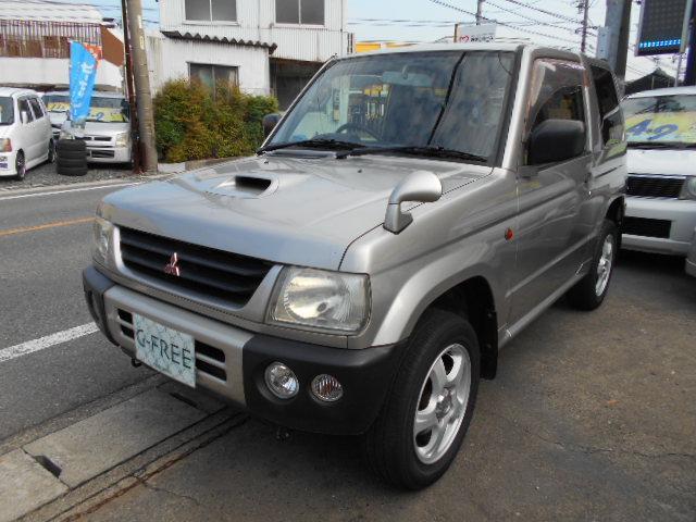 三菱 V エアバック キーレス 社外CD アルミ ターボ 4WD