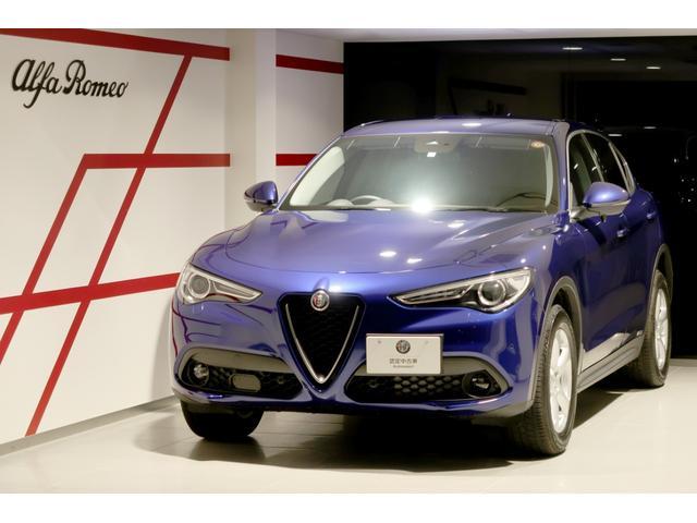 アルファロメオ 2.2ターボ ディーゼルQ4スプリント 当店試乗車 純正ナビ フルセグ パワーテールゲート ステアリングヒーター 新車保証