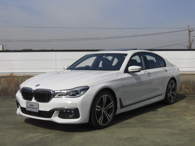 BMW 740d xDrive Msport デモカー