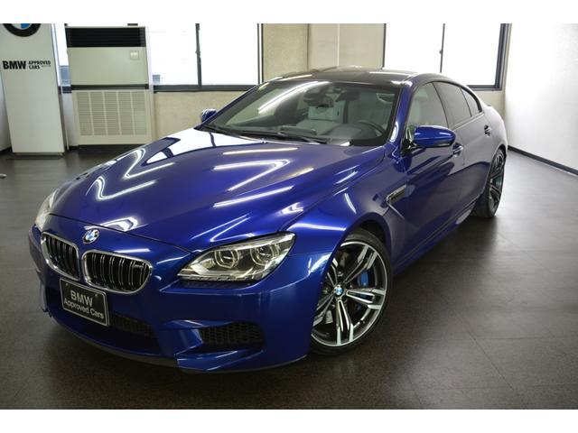BMW M6 グランクーペ 左HD シルバーストーン セーフティーパッケージ ヒートステアリング ベンチレーション/アクティブシート