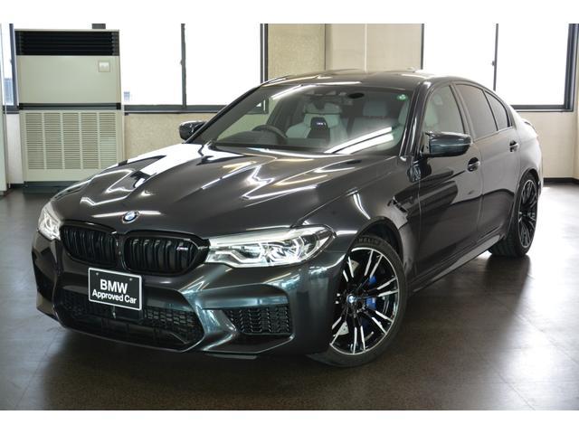 BMW M5 M5 ワンオーナー シルバーストーンレザー コンフォートPKG オートトランク 全周囲カメラ