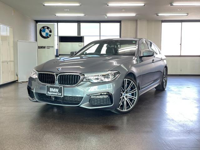 BMW 540i Mスポーツ ワンオーナー禁煙車 黒革 イノベーションPKG ガラスサンルーフ 20インチAW オートトランク シートヒーター ディスプレイキー