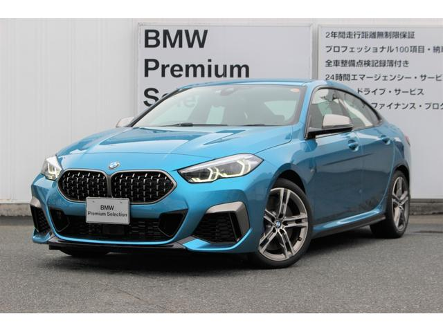 BMW 2シリーズ M235i xDriveグランクーペ 元弊社デモカー デビューPKG HDDナビBカメラ 追従式クルコン シートヒーター シフトパドル