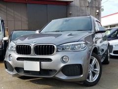 BMW X5xDrive 35d Mスポーツ 革 SR ナビ・カメラ