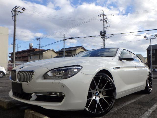 BMW 650iグランクーペ 革 SR ナビTV LEDヘッド