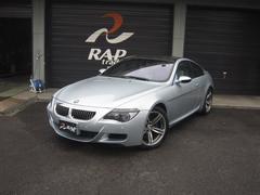 BMW M6ベースグレード ホワイトレザーシート HDDナビ ETC