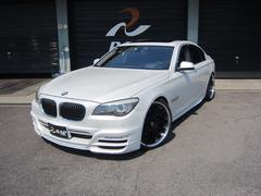 BMWアクティブハイブリッド7 左ハンドル WALDエアロ