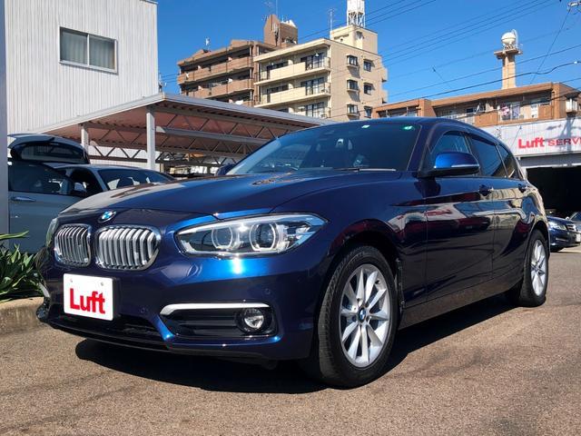 BMW 118d スタイル サーボトロニック コンフォートアクセス 2ゾーンオートエアコン ドライビングアシスト クルーズコントロール リヤビューカメラ 前後PDC パーキングアシスト LEDヘッドライト 16AW