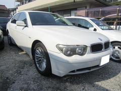 BMW745i ブラックレザーシート ミラーETC