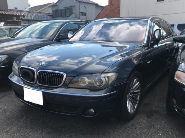 BMW 760Li ベージュレザーシート