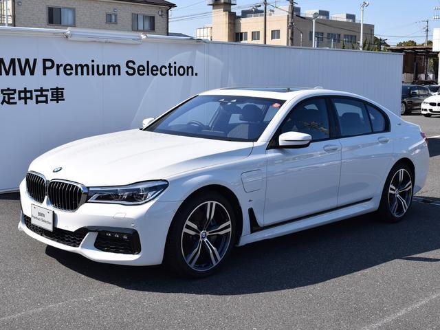 BMW 740eアイパフォーマンス Mスポーツ デモカー