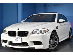 BMW M5M5 左H 7速DCT SR 黒革 HUD 地デジ 2年保証