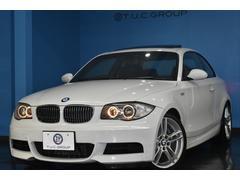 BMW135iクーペMスポ 6速MT 黒革 サンR 直6 2年保証
