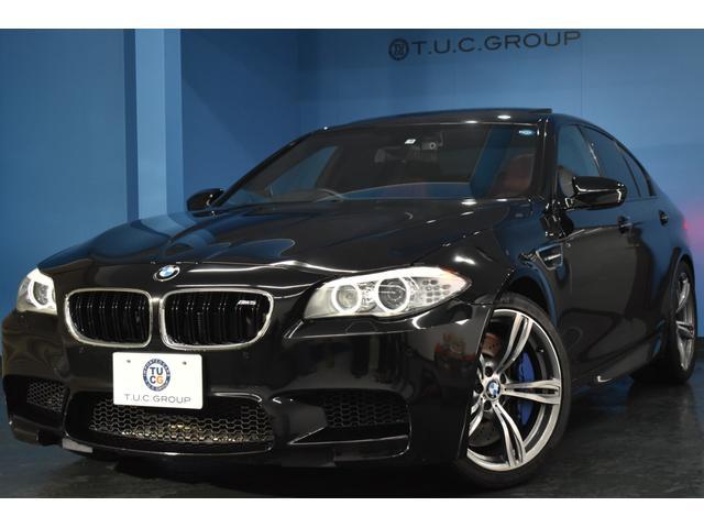 BMW M5 右H サンR 20AW 橙革 HUD 可変サス2年保証