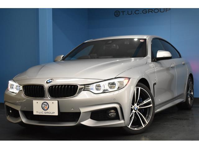 BMW 4シリーズ 435iグランクーペ Mスポーツ ファストトラックP 可変Mサス Mスポーツブレーキ 19AW LED/H 追従ACC ヒーター黒革 衝突軽減&歩行車警告 電動トランク ハーマンカードンサウンドシステム iストップ 2年保証