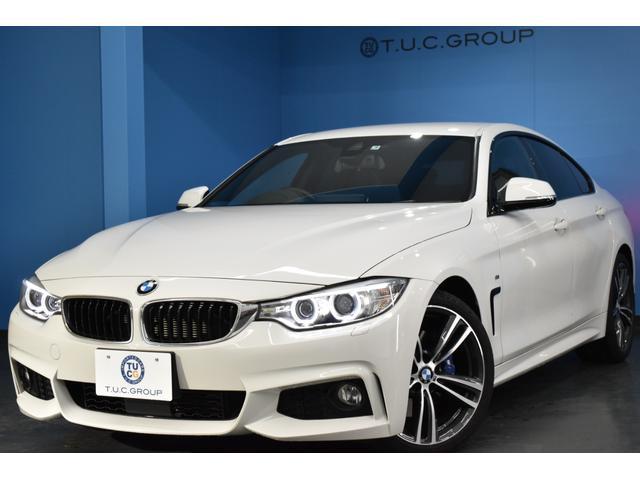 BMW 420iグランクーペ Mスポーツ ファストトラックP 追従ACC 車線逸脱&歩行者警告 衝突軽減ブレーキ Bカメラ 電動リアゲート 1オナ BTオーディオ 可変Mサス 19AW パドルS エアロ iストップ  2年保証