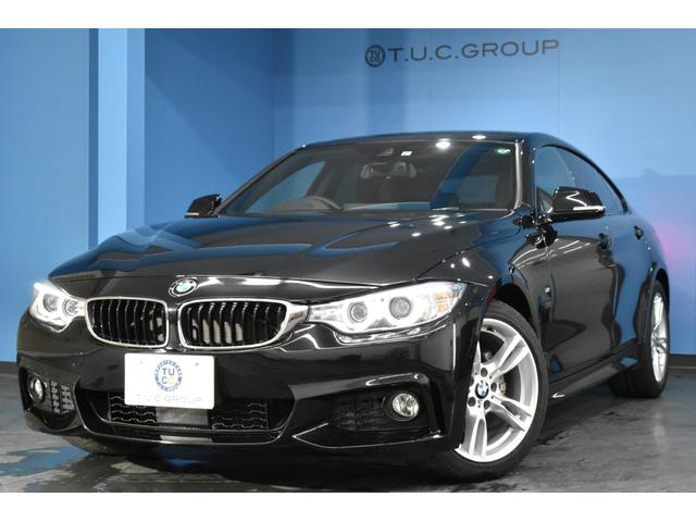 BMW 4シリーズ 420iグランクーペ Mスポーツ 横メニュー型iドライブナビ 追従ACC 車線変更&車線逸脱警告 電動リアゲート パドルシフト アイドリングストップ リアPDC連動バックカメラ スマートキー DVD再生 2年保証