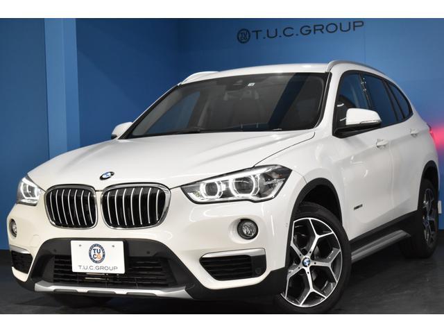 BMW X1 sDrive 18i xライン 追従ACC ヘッドUPディスプレイ LED/H 車線逸脱&歩行者警告 衝突軽減ブレーキ 1オナ 電動Rゲート コンフォ―トA Pアシスト 前後PDC連動Bカメラ BTオーディオ 2年保証